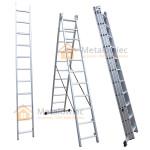 drabina przemysłowa aluminiowa rozstawna na schody modułowa