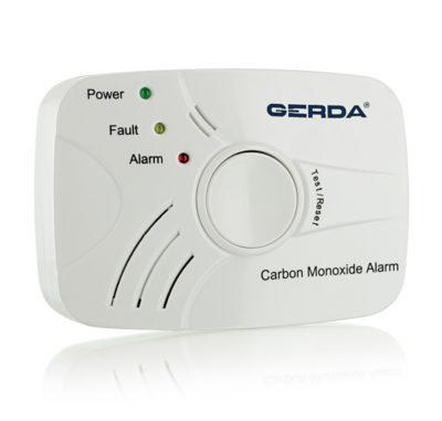 czujnik czadu tlenku węgla z atestem detektor zasilany na baterie