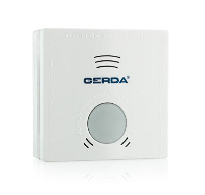 czujnik dymu certyfikowany detektor GERDA zasilany bateriami