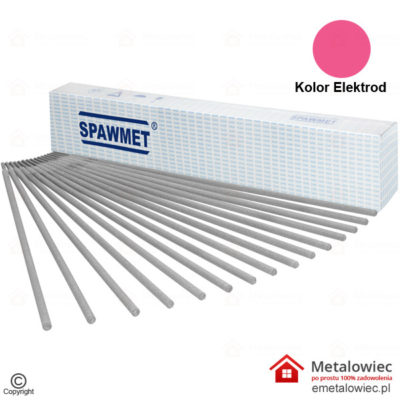 Elektroda SUPER 46 2.0x300 mm Rutylowo Celulozowa Różowa SPAWMET elektrody różowe elektrody do spawania spawarką otulina na elektrodach mma