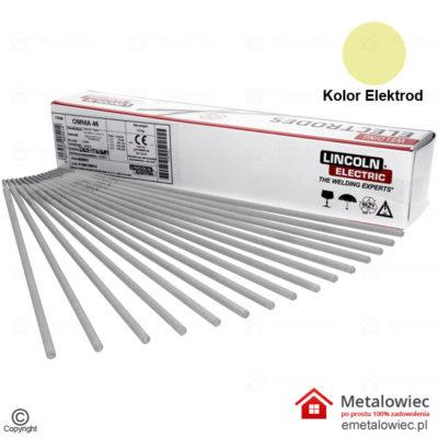 Elektrody Spawalnicze OMNIA 46 4.0×350 mm LINCOLN ELECTRIC Rutylowe elektrody do spawania spawarką