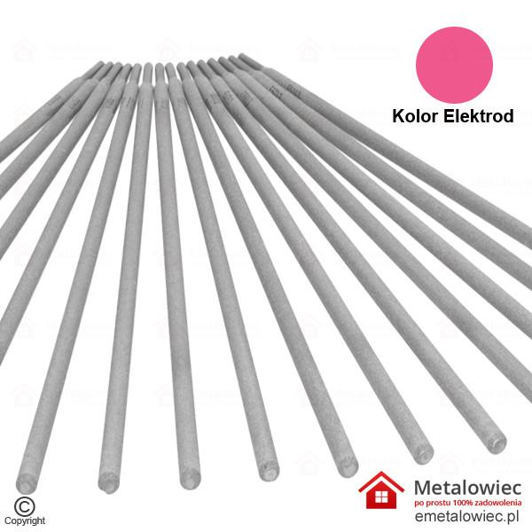 Elektrody różowe E6013 2.5×350 Rutylowo-Celulozowe