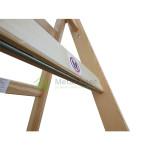drabina drewniana malarska dwustronna rozstawna
