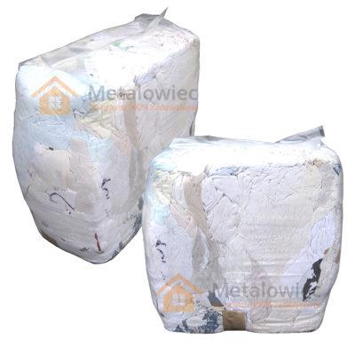 czyściwo bawełniane jasne cięte w paczkach 10 kg