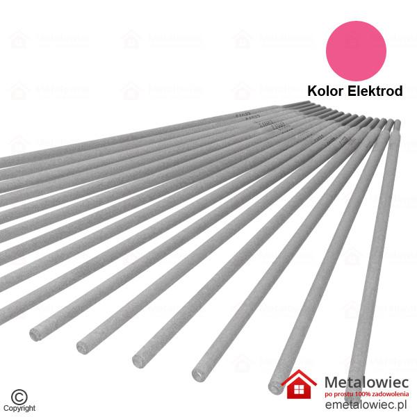 elektroda spawalnicza różowa 2.5×350 rutylowo-celulozowa E6013
