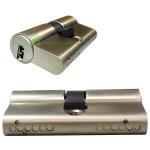 wkładka bębenkowa hartowana GERDA do zamka wpuszczanego na pięć kluczy nawiercanych z kodem