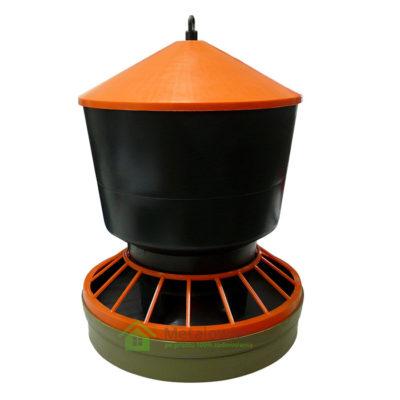karmidło dla drobiu 15 kg karmnik zasypowy z pokrywą