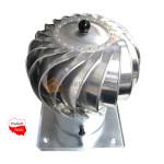 obrotowa nasada kominowa na komin wentylacyjny aluminiowa