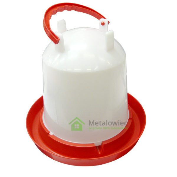 zakręcane poidło dla drobiu 10 litrów