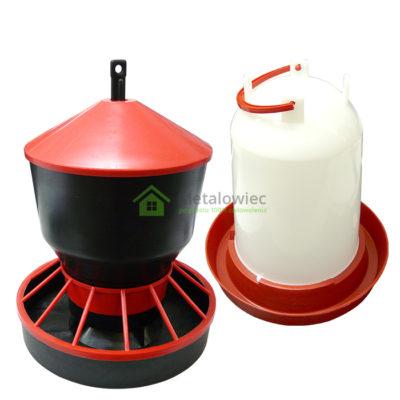 poidło i karmnik dla drobiu 6 litrów