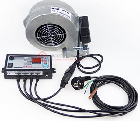 sterownik do pieca co z wyświetlaczem led i czujnikiem temperatury