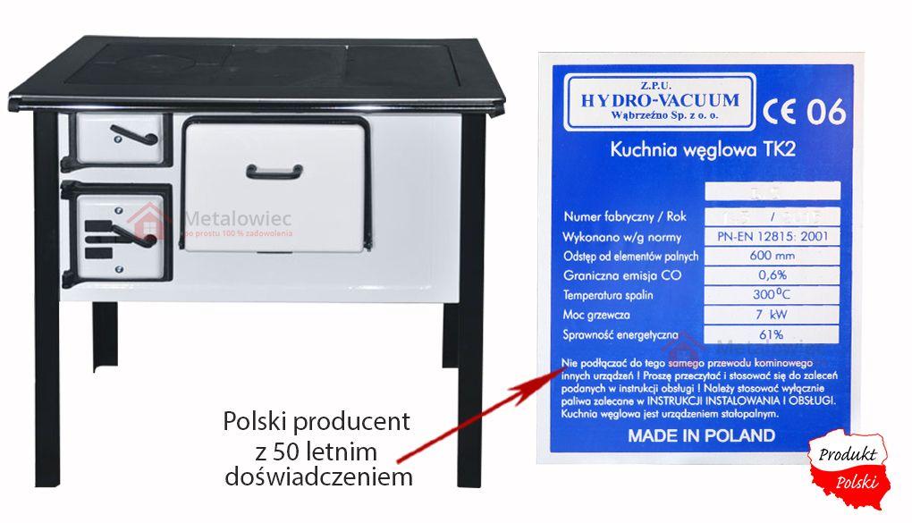kuchnia węglowa od polskiego producenta
