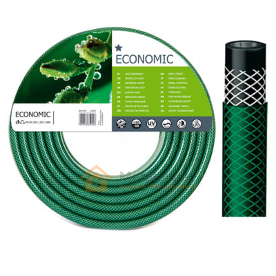 wąż ogrodowy zielony
