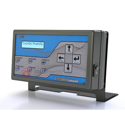 elektroniczny sterownik pieca z podajnikiem
