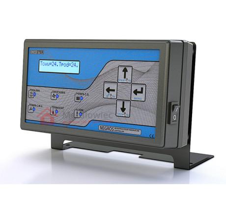 sterownik pieca z podajnikiem na 2 pompy i 4 czujniki temperatury