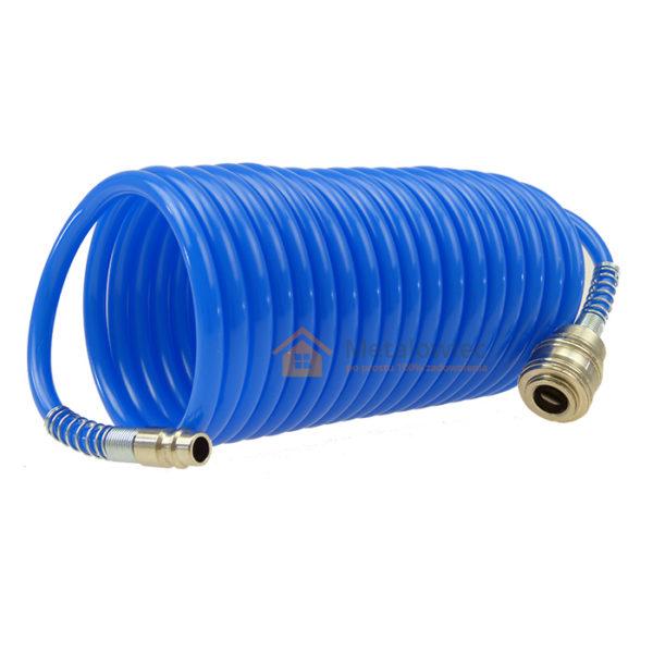 wąż pneumatyczny do kompresora z szybkozłączkami