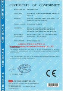 drabina teleskopowa certyfikat