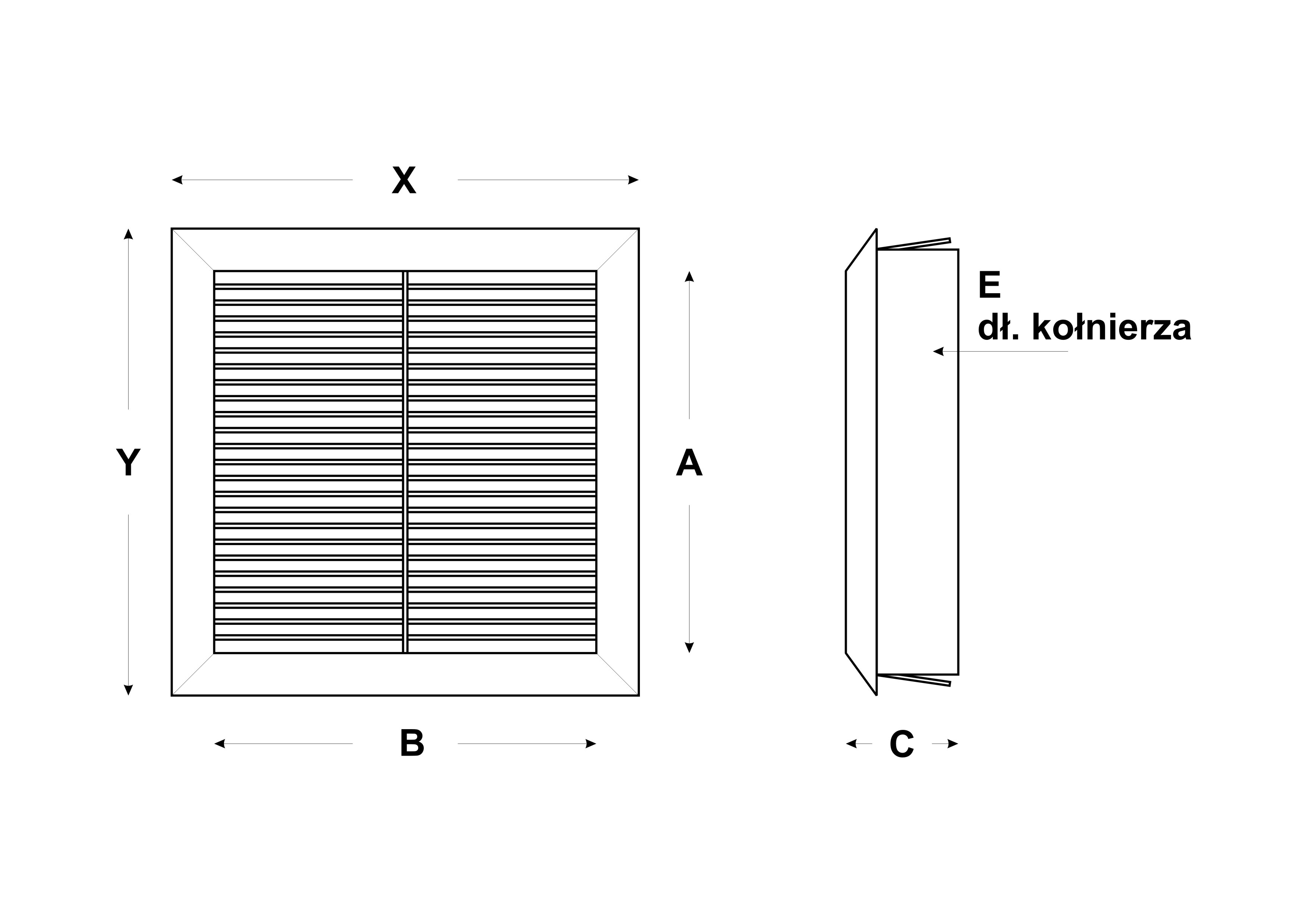 kratka skosna z siatka 14x14 schem