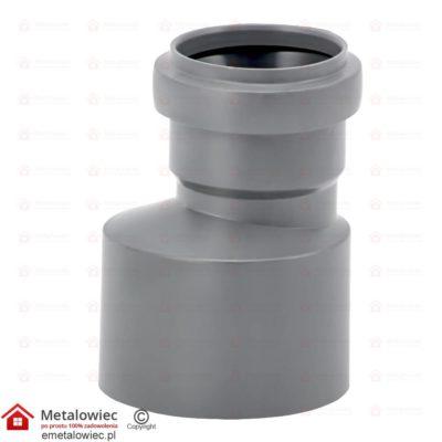 Redukcja kanalizacyjna fi-110 mm / 75 mm