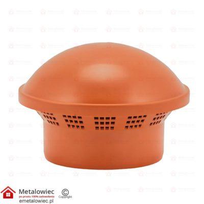 PVC Wywiewka kominek któtki pomarańczowy fi-160
