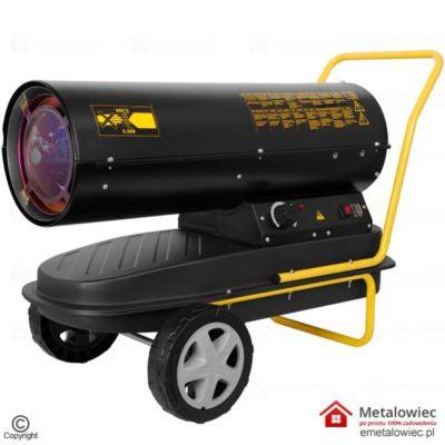Nagrzewnica Olejowa Drel 30kW CON-NGD-1030 2.8L DIESEL Nagrzwenica z regulatorem i termostatem na rope lub na olej napędowy. Dmuchawa olejowa ma promiennik, Piec grzewczy