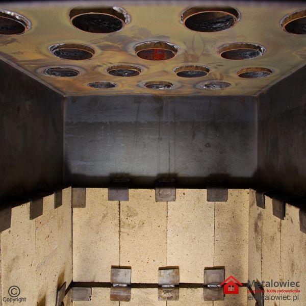 Piec nadmuchowy Dual Twin PRO Komora spalania wymiennik ciepła płaszczowo rurowy Budowa Pieca