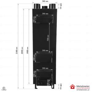 Piec nadmuchowy dual twin pro wymiary pieca nadmuchowego budowa i konstrukcja