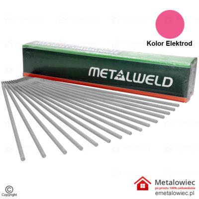 Elektrody Rutylowe RUTWELD 12 4.0x350 mm Różowe METALWELD Rutylowo Celulozowe otulina na elektrodach mma