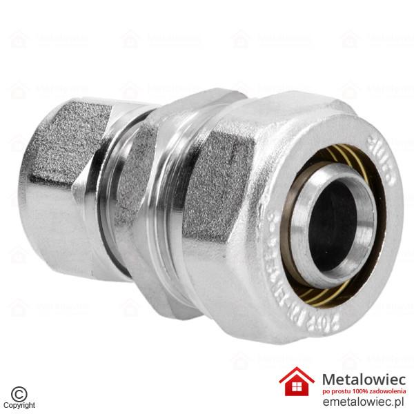 Redukcja PEX 20/16 mm skręcana Złączka prosta