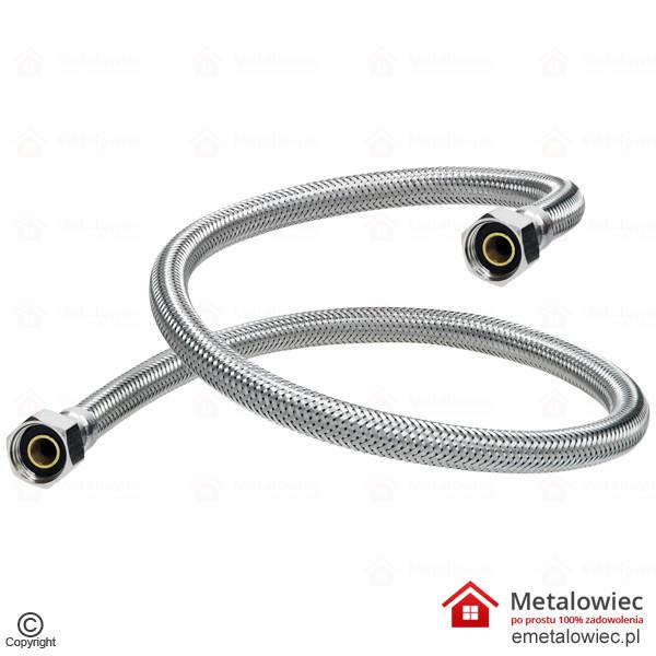 Wąż przyłączeniowy 3/8 L-400 elastyczny