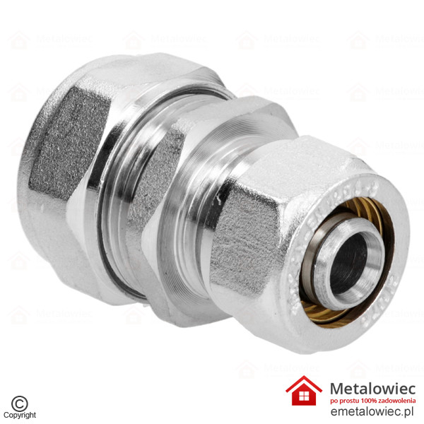Złączka prosta PEX 16×20 mm redukcyjna skręcana